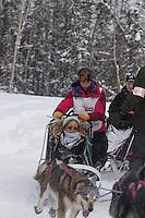 Zoya DeNure Saturday, March 3, 2012  Ceremonial Start of Iditarod 2012 in Anchorage, Alaska.