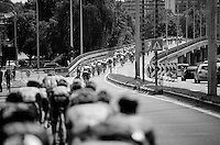 peloton around Leuven<br /> <br /> GP Jef Scherens 2015