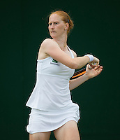 ALISON VAN UYTVANCK (BEL) <br /> <br /> TENNIS - THE CHAMPIONSHIPS - WIMBLEDON - ATP - WTA - ITF - GRAND SLAM - CHAMPIONSHIPS - LONDON - GREAT  BRITAIN - 2016  <br /> <br /> <br /> <br /> &copy; TENNIS PHOTO NETWORK