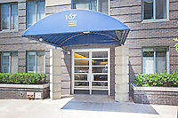 Entrance to 167 Perry Street