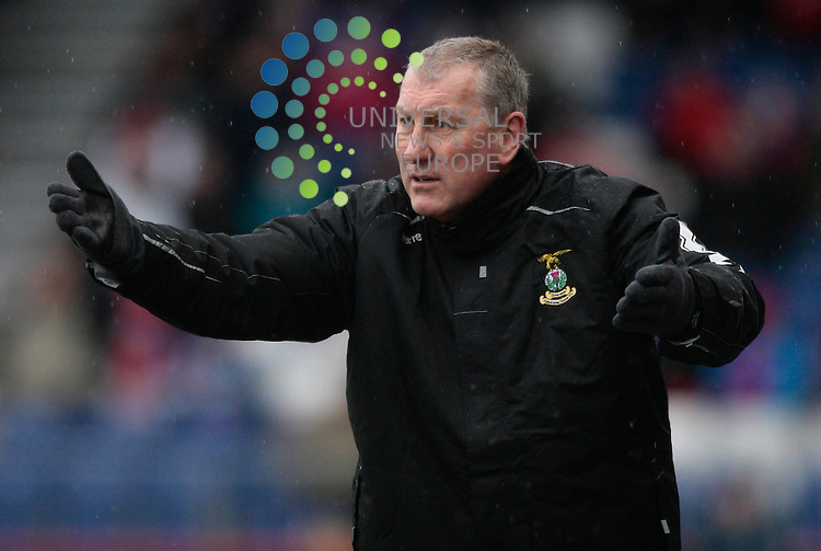 Hibernian have agreed personal terms with Inverness Caledonian Thistle's Terry Butcher to become their new manager.<br /> Picture: Universal News &amp; Sport (Scotland)<br /> 12/11/2013