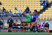 Callan Elliot 0f Wellington Phoenix during the A League - Wellington Phoenix v Western United FC at Sky Stadium, Wellington, New Zealand on Friday 21 February 2020. <br /> Photo by Masanori Udagawa. <br /> www.photowellington.photoshelter.com