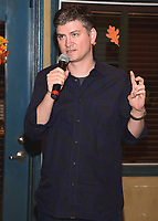 "STUDIO CITY - OCTOBER 4:  Michael Schur (Co-Creator/Executive Producer) at Fox's ""Brooklyn Nine-Nine"" 99th Episode Celebration at CBS Radford Studio  on October 4, 2017 in Studio City, California. (Photo by Scott Kirkland/Fox//PictureGroup)"
