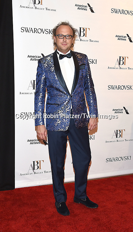Enrico Bruni attends the American Ballet Theatre 2017 Spring Gala on May 22, 2017  in Lincoln Center in New York, New York, USA. <br /> <br /> photo by Robin Platzer/Twin Images<br />  <br /> phone number 212-935-0770
