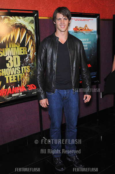 "Steven R. McQueen (grandson of Steve McQueen) at the Los Angeles premiere of his new movie ""Piranha 3D"" at Mann's Chinese 6 Theatre, Hollywood..August 18, 2010  Los Angeles, CA.Picture: Paul Smith / Featureflash"