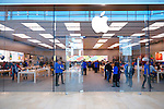Apple store, Yorkdale shopping center, Toronto, Ontario, Canada 2014.