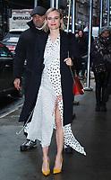 DEC 14 Diane Kruger Seen In NYC