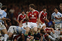 2005 British & Irish Lions vs Pumas [ Argentina], at The Millennium Stadium, Cardiff, WALES match played on  23.05.2005, Shane Horgan, gesters to what might have been after his pass is deflected..Photo  Peter Spurrier. .email images@intersport-images...