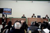 Roma, 24Novembre 2015<br /> La Presidente Rosanna Ianniello.<br /> Aula bunker di Rebibbia<br /> Quarta udienza del processo Mafia Capitale,