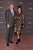LOS ANGELES, CA - NOVEMBER 04: Jami Gertz, Antony Ressler at the 2017 LACMA Art + Film Gala Honoring Mark Bradford And George Lucas at LACMA on November 4, 2017 in Los Angeles, California. Credit: David Edwards/MediaPunch /NortePhoto.com