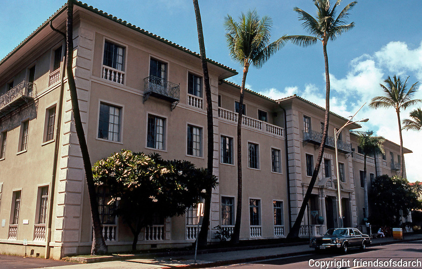 Julia Morgan: Y.W.C.A., 1040 Richards St., Honolulu. 1927.