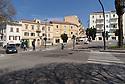 12 aprile 2020, Sassari, Emiciclo Garibaldi. Pasqua di Resurrezione. Intervento di soccorso coadiuvato dalla Polizia Municipale.