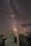 The Tufu Range at Mono Lake with the Milky Way, Lee Vining Ca.