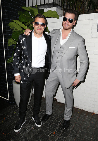 LOS ANGELES, CA June 01- David Schottenstein, Dave Osokow, Dave-O, at Prive Eyewear Launch Party at Chateau Marmont, California on June 01, 2017. Credit: Faye Sadou/MediaPunch