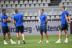 27.06.2020, xmeix, 1.Fussball Bundesliga, Borussia Dortmund - TSG 1899 Hoffenheim, empor. v.l.n.r, <br /> Florian Grillitsch (TSG 1899 Hoffenheim) mit Pavel Kaderabek (TSG 1899 Hoffenheim), Christoph Baumgartner (TSG 1899 Hoffenheim) und Stefan Posch (TSG 1899 Hoffenheim)<br /> <br /> <br /> <br /> Foto: Sascha Meiser/APF/Pool/PIX-Sportfotos<br /> <br /> Nur für journalistische Zwecke!<br /> Only for editorial use!<br /> Nutzungsbedingungen: http://poolbilder.de/nutzungsvereinbarung.pdf<br /> <br /> Foto © PIX-Sportfotos *** Foto ist honorarpflichtig! *** Auf Anfrage in hoeherer Qualitaet/Aufloesung. Belegexemplar erbeten. Veroeffentlichung ausschliesslich fuer journalistisch-publizistische Zwecke. For editorial use only. DFL regulations prohibit any use of photographs as image sequences and/or quasi-video.