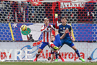 Atletico de Madrid´s Saul scoring to goal