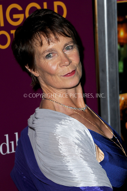 WWW.ACEPIXS.COM<br /> March 3, 2015 New York City<br /> <br /> Celia Imrie attends 'The Second Best Exotic Marigold Hotel' New York Premiere at the Ziegfeld Theater on March 3, 2015 in New York City. <br /> <br /> Please byline: Kristin Callahan/AcePictures<br /> <br /> ACEPIXS.COM<br /> <br /> Tel: (646) 769 0430<br /> e-mail: info@acepixs.com<br /> web: http://www.acepixs.com