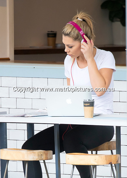 22 JULY 2016 SYDNEY AUSTRALIA<br /> WWW.MATRIXPICTURES.COM.AU<br /> <br /> EXCLUSIVE PICTURES<br /> <br /> Kiki Morris pictured out and about in Bondi. Kiki was spotted leaving Paris A Go Go Cafe after a meeting and heading to the gym for a workout. <br /> <br /> *ALL WEB USE MUST BE CLEARED*<br /> <br /> Please contact prior to use:  <br /> <br /> +61 2 9211-1088 or email images@matrixmediagroup.com.au <br /> <br /> Note: All editorial images subject to the following: For editorial use only. Additional clearance required for commercial, wireless, internet or promotional use.Images may not be altered or modified. Matrix Media Group makes no representations or warranties regarding names, trademarks or logos appearing in the images.