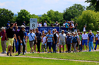 Spectators during the first round of the Lyoness Open powered by Organic+ played at Diamond Country Club, Atzenbrugg, Austria. 8-11 June 2017.<br /> 08/06/2017.<br /> Picture: Golffile | Phil Inglis<br /> <br /> <br /> All photo usage must carry mandatory copyright credit (&copy; Golffile | Phil Inglis)