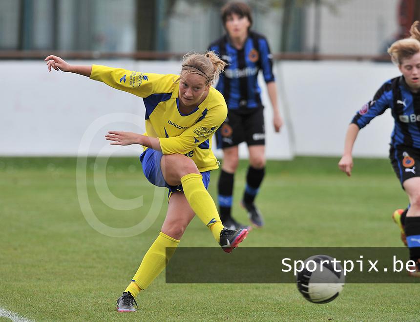 Club Brugge Dames - STVV Sint Truidense VV : Eleen Kimps.foto DAVID CATRY / Nikonpro.be