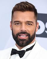 LOS ANGELES, EUA, 27.01.2019 - PREMIAÇÃO-EUA - O cantor Ricky Martin durante tapete vermelho do  25º Anual Screen Actors Guild Awards, realizada no Shrine Auditorium em Los Angeles nos Estados Unidos na noite de ontem domingo, 27. (Foto: Brazil Photo Press)