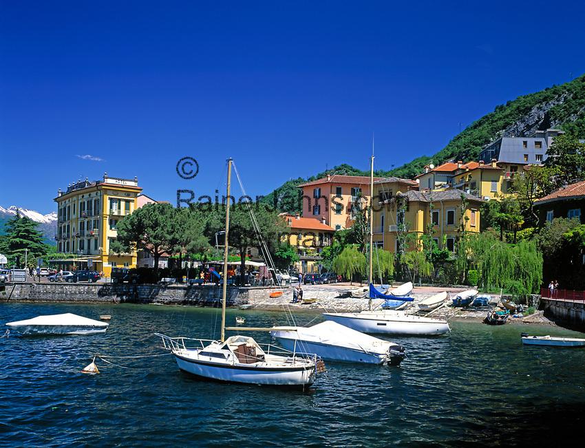 ITA, Italien, Lombardei, Comer See, Varenna: beliebter Urlaubsort  | ITA, Italy, Lombardia, Lake Como, Varenna: famous holiday resort