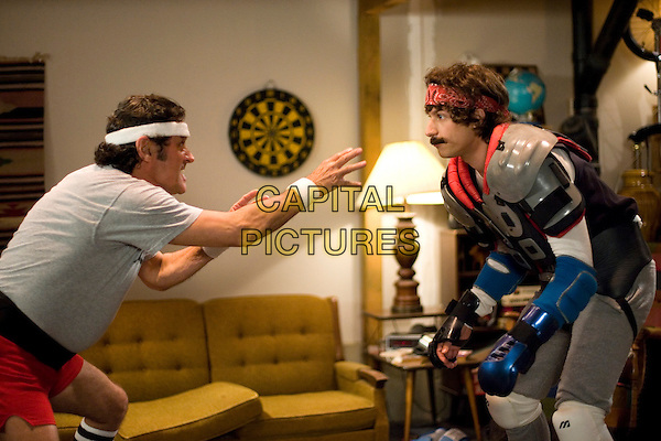 IAN McSHANE & ANDY SAMBERG.in Hot Rod .**Editorial Use Only**.CAP/FB.Supplied by Capital Pictures