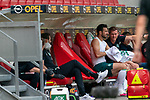 Claudio Pizarro (Werder Bremen #14), Tim Borowski (Co-Trainer SV Werder Bremen)<br /> <br /> <br /> Sport: nphgm001: Fussball: 1. Bundesliga: Saison 19/20: 33. Spieltag: 1. FSV Mainz 05 vs SV Werder Bremen 20.06.2020<br /> <br /> Foto: gumzmedia/nordphoto/POOL <br /> <br /> DFL regulations prohibit any use of photographs as image sequences and/or quasi-video.<br /> EDITORIAL USE ONLY<br /> National and international News-Agencies OUT.
