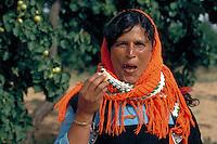 Portrait of a tunesian farmer