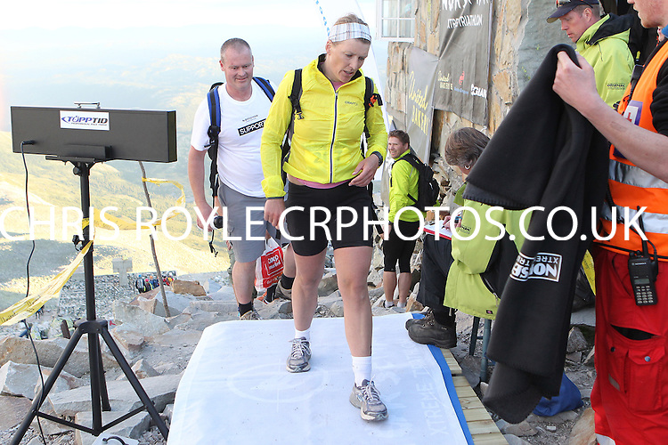 Race number 267 - Berit Kolltveit- - Norseman Xtreme Tri 2012 - Norway - photo by chris royle/ boxingheaven@gmail.com