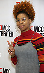 """Ari Groover attends the Photo Call for the MCC Theater's World Premiere production of """"Alice by Heart"""" at the New 42nd Street Studios on December 17, 2018 in New York City."""