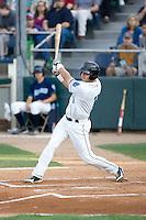 August 6, 2010: Everett AquaSox's Evan Sharpley (11) at-bat during a Northwest League game against the Boise Hawks at Everett Memorial Stadium in Everett, Washington.