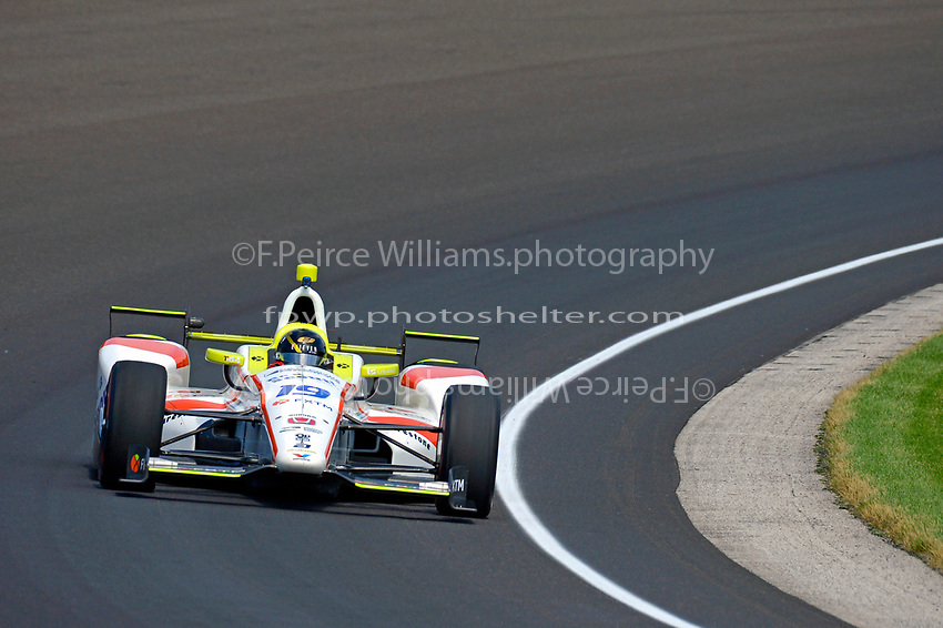 Verizon IndyCar Series<br /> Indianapolis 500 Carb Day<br /> Indianapolis Motor Speedway, Indianapolis, IN USA<br /> Friday 26 May 2017<br /> Ed Jones, Dale Coyne Racing Honda<br /> World Copyright: F. Peirce Williams