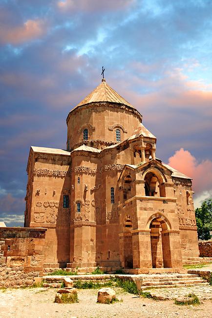 10th century Armenian Orthodox Cathedral of the Holy Cross on Akdamar Island, Lake Van Turkey 66