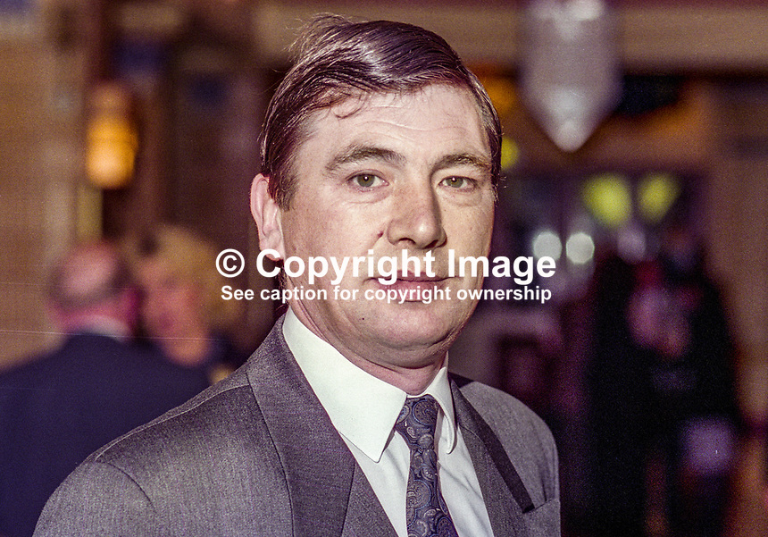Terry Rooney, MP, Labour Party, UK, October, 1994, 199410003<br />