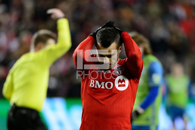 Toronto, ON, Canada - Saturday Dec. 10, 2016: Sebastian Giovinco during the MLS Cup finals at BMO Field.