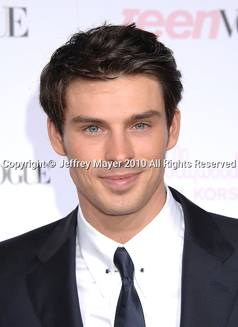 HOLLYWOOD, CA. - October 01: Adam Gregory  arrives at the 8th Annual Teen Vogue Young Hollywood Party at Paramount Studios on October 1, 2010 in Hollywood, California.