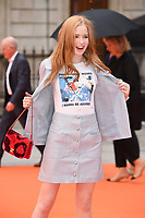 Ellie Bamber<br /> at the Royal Acadamy of Arts Summer Exhibition opening party 2017, London. <br /> <br /> <br /> &copy;Ash Knotek  D3276  07/06/2017