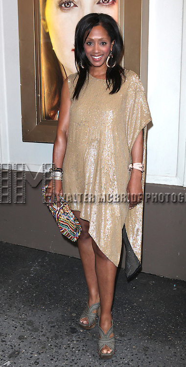 Malaak Compton-Rock.attending the Broadway Opening Night Performance  for 'The Mother F**ker with the Hat'  in New York City.
