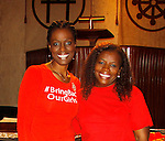 Evon Idahosa & Doris Taro - Bring Back Our Girls - 500 Days on August 27, 2015 - New York City, New York (Photo by Sue Coflin/Max Photos)