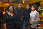 MIAMI, FL - MARCH 04: Marlene Bastien, Jimmy Jean-Louis, Omar Desire and ,Louikencia Jean D attend the after party to the Miami Film Festival screening for 'Serenade for Haiti' at Tap Tap Restaurant on March 4, 2017 in Miami, Florida. ( Photo by Johnny Louis / jlnphotography.com )