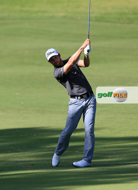 Bryden MacPherson (AUS) on the 9th during Round 1 of the ISPS HANDA Perth International at the Lake Karrinyup Country Club on Thursday 23rd October 2014.<br /> Picture:  Thos Caffrey / www.golffile.ie