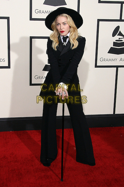 LOS ANGELES, CA - JANUARY 26 - Madonna. 56th GRAMMY Awards held at the Staples Center. <br /> CAP/ADM<br /> &copy;AdMedia/Capital Pictures