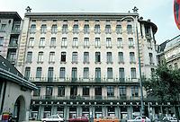 Otto Wagner: Apartment House at Linke Wienzeile 38, Vienna 1898/99.