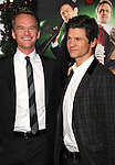 "HOLLYWOOD, CA - NOVEMBER 02: Neil Patrick Harris and David Burtka  arrive at the ""A Very Harold & Kumar 3D Christmas"" Los Angeles Premiere at Grauman's Chinese Theatre on November 2, 2011 in Hollywood, California."