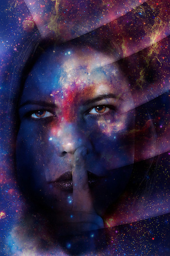 Cozmic Portraits Cosmic, conceptual and beautiful faces