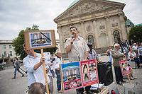 2018/08/15 Berlin | Katholische Kirche | Protest Umbau Hedwigskathedrale