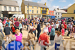 Kerry Fleadh Cheoil : Dancing on the outdoor platform  at the Kerry Fleadh Cheoil in Ballybunion on Sunday last.