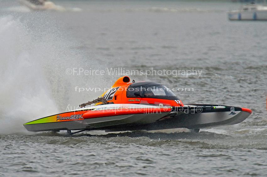 """Jimmy King, E-12 """"Pleasure Seekers"""" (5 Litre class hydroplane(s)"""