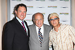 Kevin McCollum; Doug Morris and Jimmy Iovine  attending the Broadway World Premiere Launch for 'Motown: The Musical' at the Nederlander in New York. Sept. 27, 2012